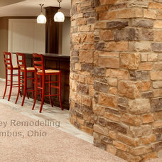Contemporary Basement by Griffey Remodeling