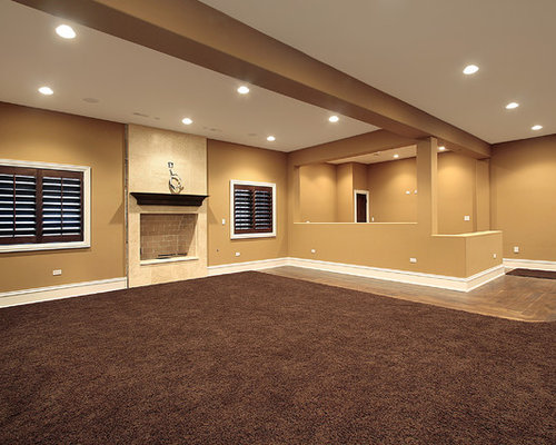 transitional san diego basement design ideas pictures remodel