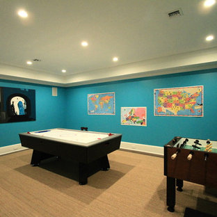 Game Room in Lower Level