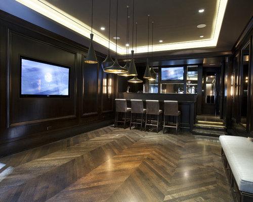 Basement Bar Floor Home Design Ideas, Pictures, Remodel