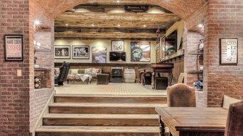 Gameroom Wood Stairs
