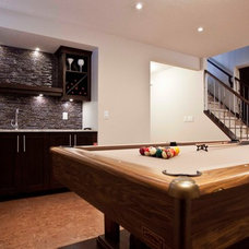 Contemporary Basement by Urban Abode