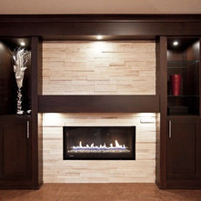 Tv Fireplace Built In Wall Units Stackstone Ideas