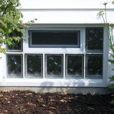 Basement by Masonry & Glass Systems