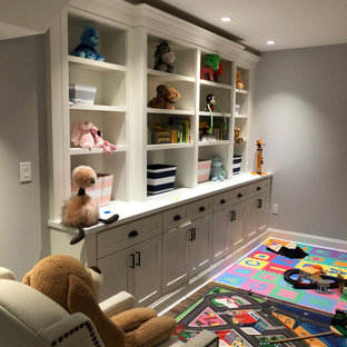 Glen Mills Finished Basement: Bar, Bath, Exercise, Built In's and TV Area