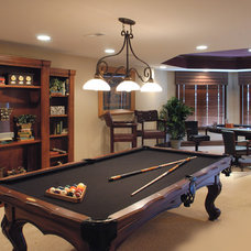 Traditional Basement by Walker Homes LTD