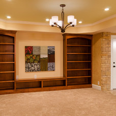 Traditional Basement by Lane Homes & Remodeling Inc.