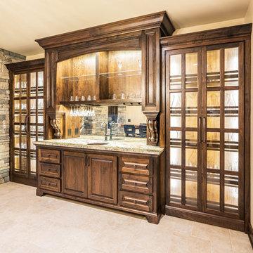 Grand Wine Cellar and Basement Renovation