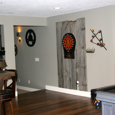 Traditional Basement by Designer for Triton Homes, Owner Triton Interiors