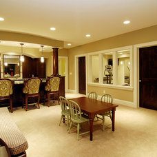 Traditional Basement by Great Neighborhood Homes