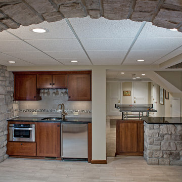 Grown-Up Finished Basement