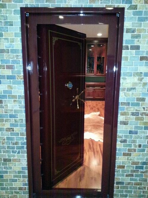 Safe Room Design: Walk In Gun Safe Home Design Ideas, Pictures, Remodel And