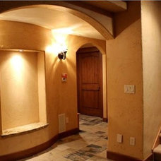 Traditional Basement by Basement Finishing & Design Service, INC