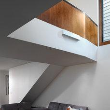 Modern Basement by Davignon Martin Architecture