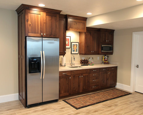 Basement Kitchenette | Houzz