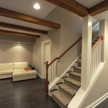 Heirloom Design Build: Modern Basement Renovation