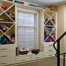 Eclectic Basement by Designing Solutions