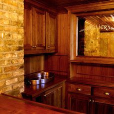Traditional Basement by Quartersawn Design Build