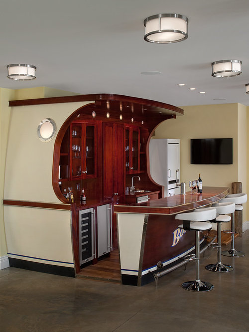 Nautical Themed Bar Houzz