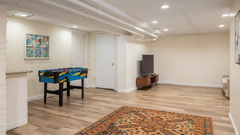 Historic Home In The Fan Gets An Updated Basement