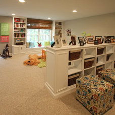 Traditional Basement by Woodstock Building Associates, LLC