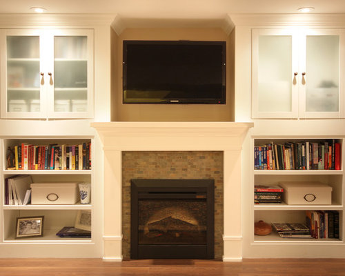 SaveEmail - Best Electric Fireplace Surround Design Ideas & Remodel Pictures