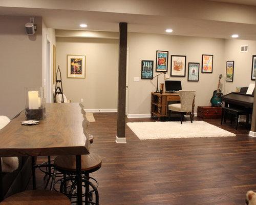 Pavimento Scuro Colore Pareti : Pavimento marrone scuro colore pareti abbinare arredo e pareti