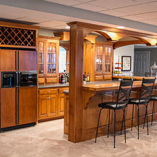 Traditional Basement by Superior Cabinetry