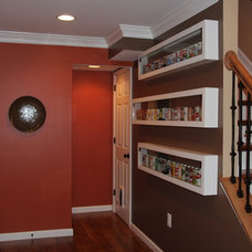 Traditional Basement Home Interior