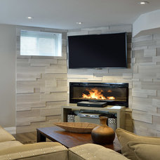 Transitional Basement by ATD Contracting Services Inc.