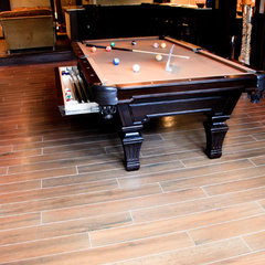 traditional basement by EF Marburger Fine Flooring