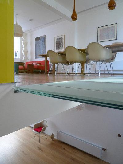 Moderne Sous-sol by Sophie Nguyen Architects Ltd