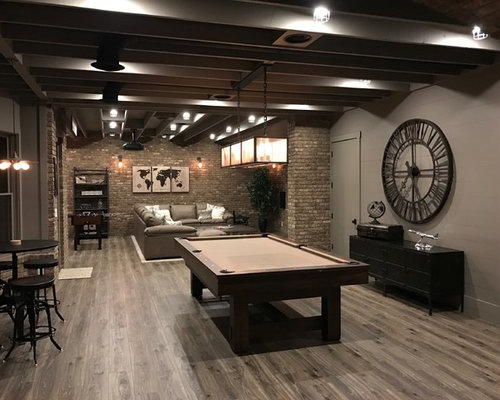 Best Industrial Basement Design Ideas Remodel Pictures