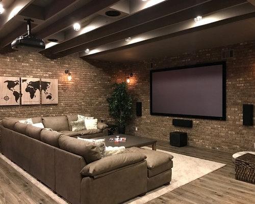 Rustic basement design ideas pictures remodel decor for Arredamento da taverna