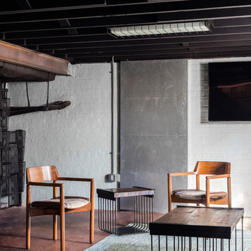 Industrial Deco Lounge