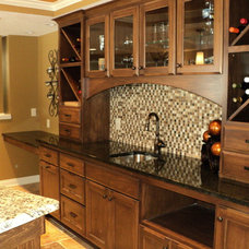 Traditional Basement by The Time 4 Design