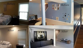 Interior painting and Resseced lights install