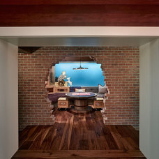 Eclectic Basement by Cody Anderson Wasney Architects, Inc.