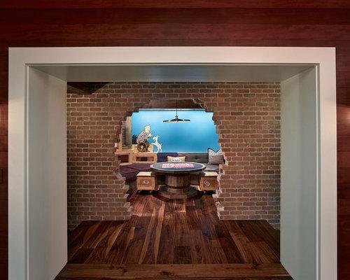Cinder block wall houzz - 7 great basement design ideas ...