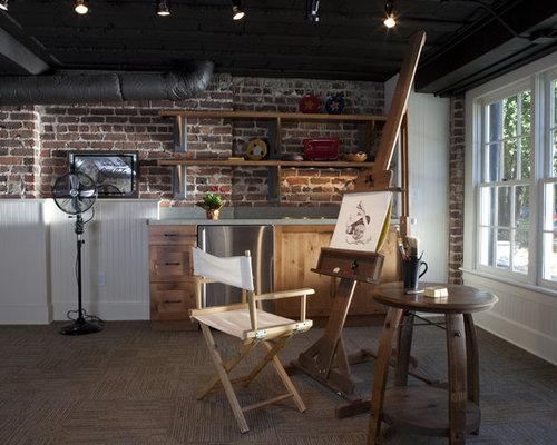 Black basement ceiling home design ideas pictures for Black ceiling basement ideas