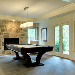 traditional basement by John Willis Homes