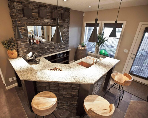 Stone bar front home design ideas pictures remodel and decor for Bar front ideas