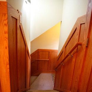 Idées déco pour un sous-sol craftsman.