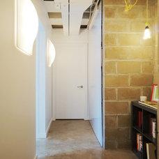 Modern Basement by John Dwyer Architect