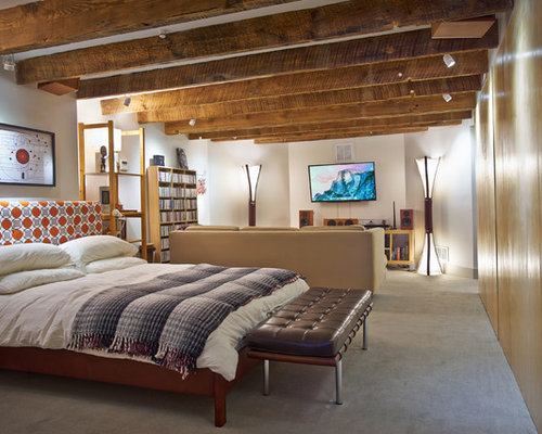 Basement Bedroom Houzz