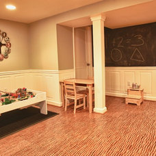 Traditional Basement by Kreative Ways & Solutions, LLC