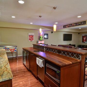 Kitchen & Basement with Loft