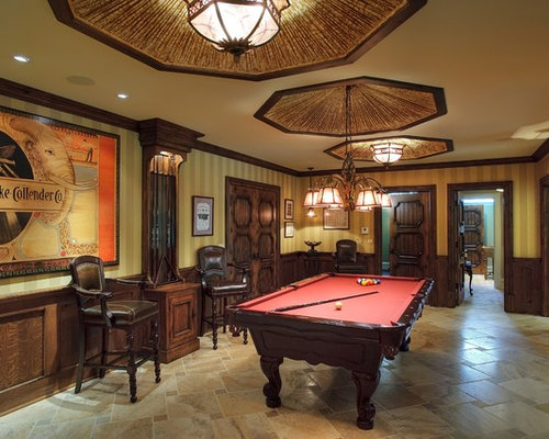 game room furniture ideas. example of a classic brown floor game room design in chicago with walls furniture ideas m
