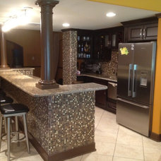 Modern Basement by Lowes of Indian Land, SC