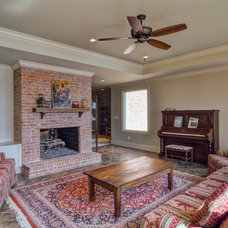 Traditional Basement by Weidmann Remodeling